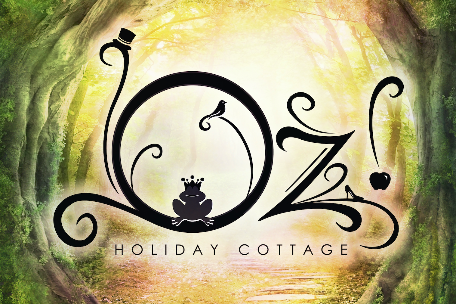 Maiko Creative Agency - Oz Holiday Cottage - Logo - Carte de visite